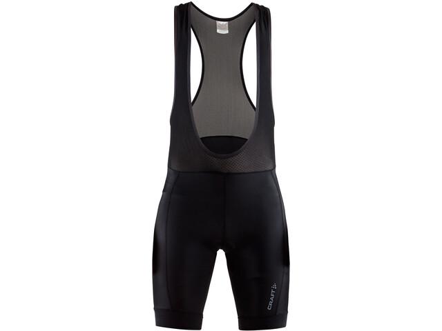 Craft Rise Bib Shorts Heren, black